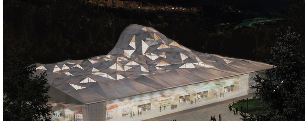 Sondrio Arena, passi avanti  Il progetto prende forma