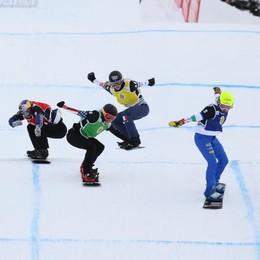 Valmalenco iridata  Snowboardcross e gobbe