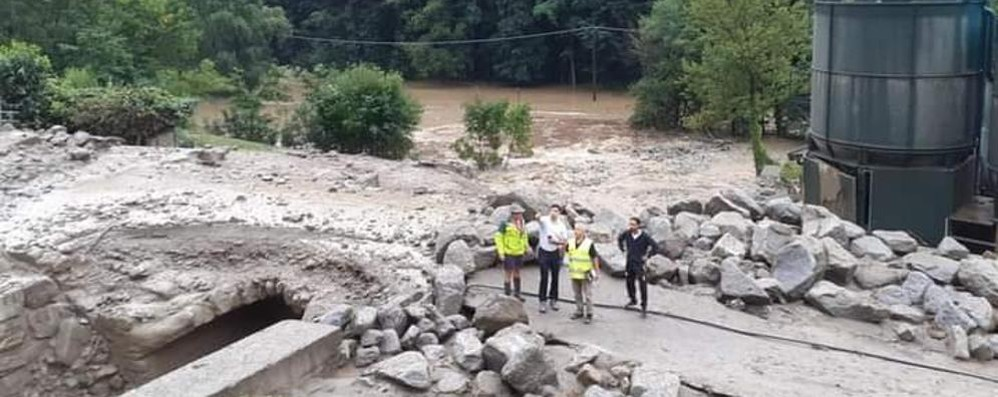 Maltempo, danni in Valchiavenna  Frana a San Carlo  Interrotta la statale della Bregaglia