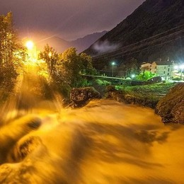 I fiumi fanno paura  Boy scout soccorsi  al Pian Gembro