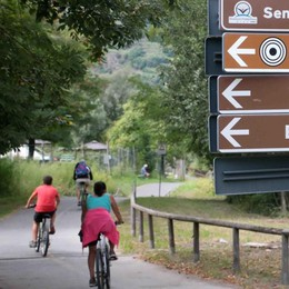 Sentiero Valtellina  preso d'assalto  Anche dai turisti