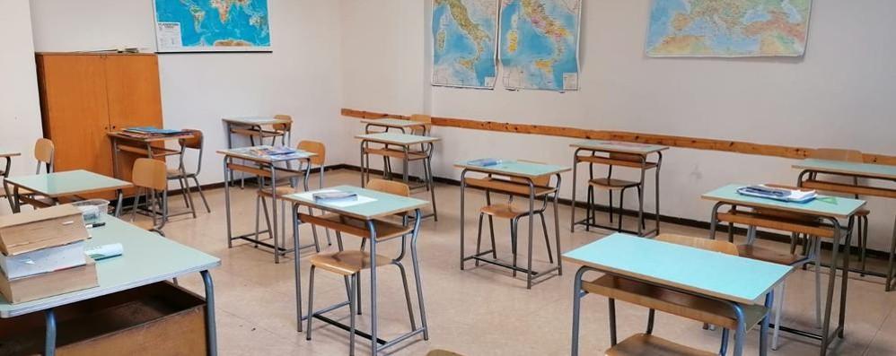 Contagi stabili e Tirano   rilevatori a scuola