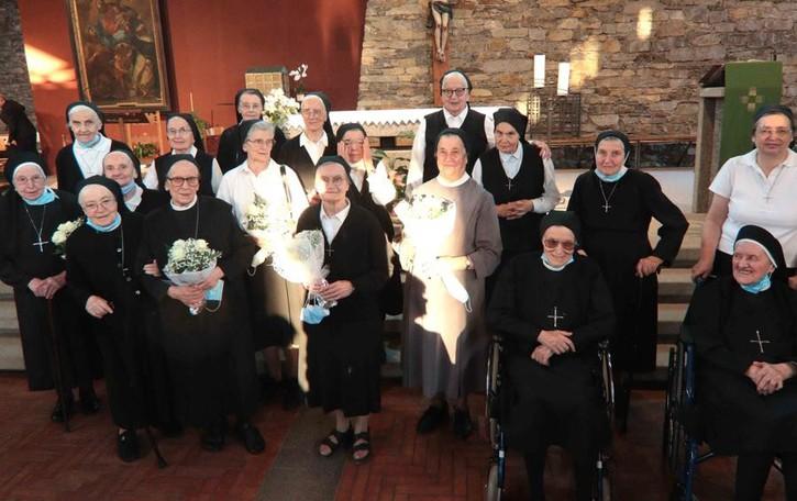 Festa per Ersilia, Monica Amanzia  e le due Agnese