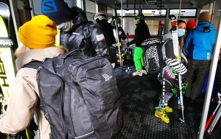 Obbligo Green pass   sugli impianti da sci